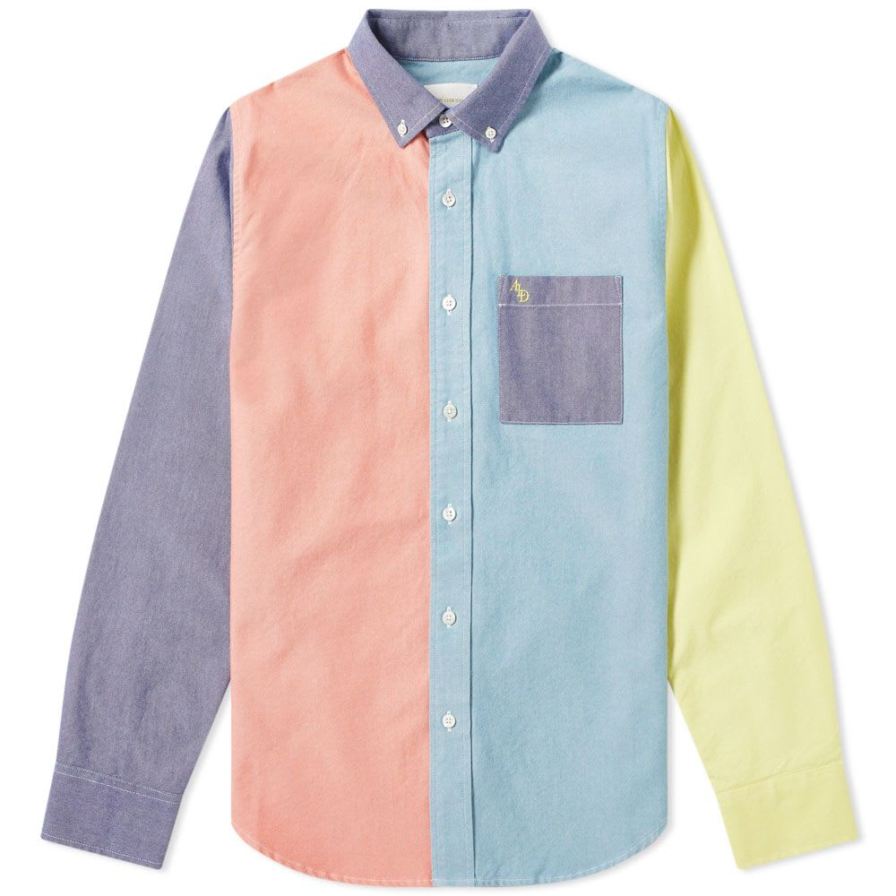 Colour Block Oxford Shirt