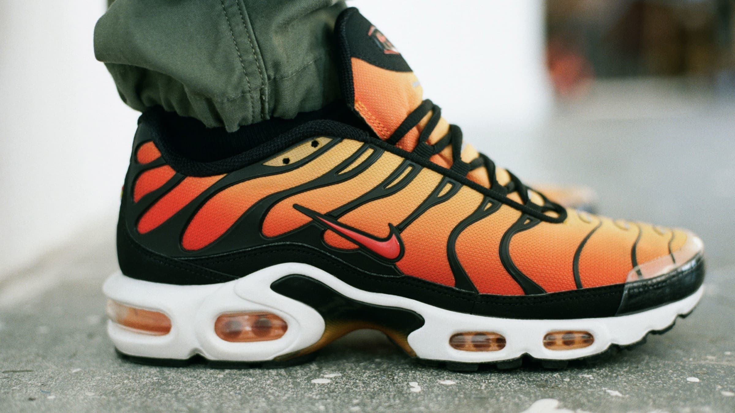 End Features Nike Air Max Plus Tn Og Sunset Orange