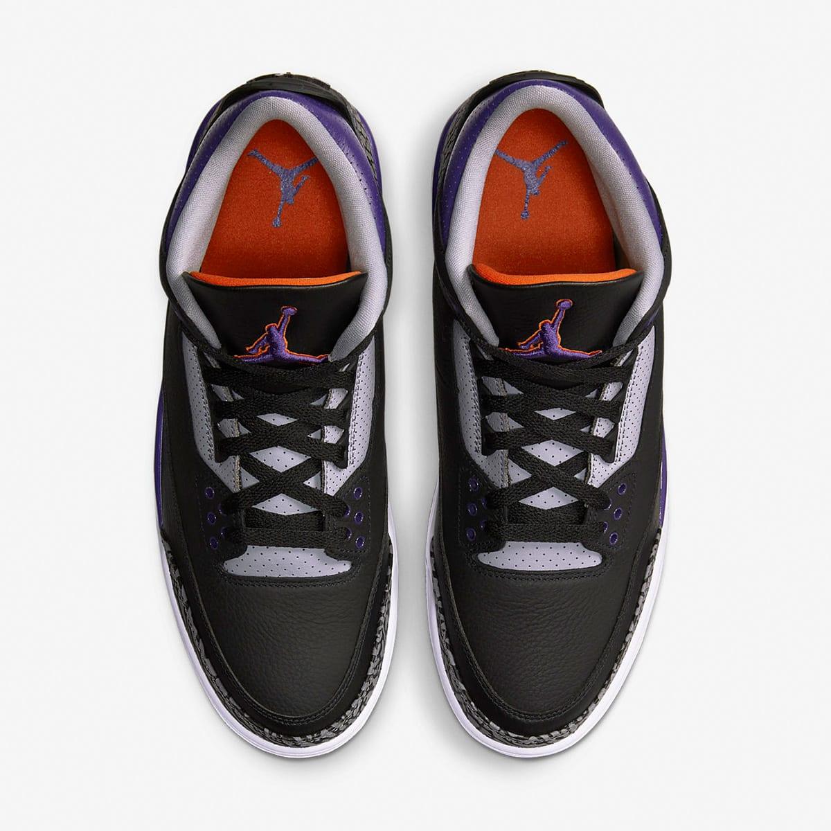 """Air Jordan 3 Retro """"Court Purple"""" - CT8532-050"""