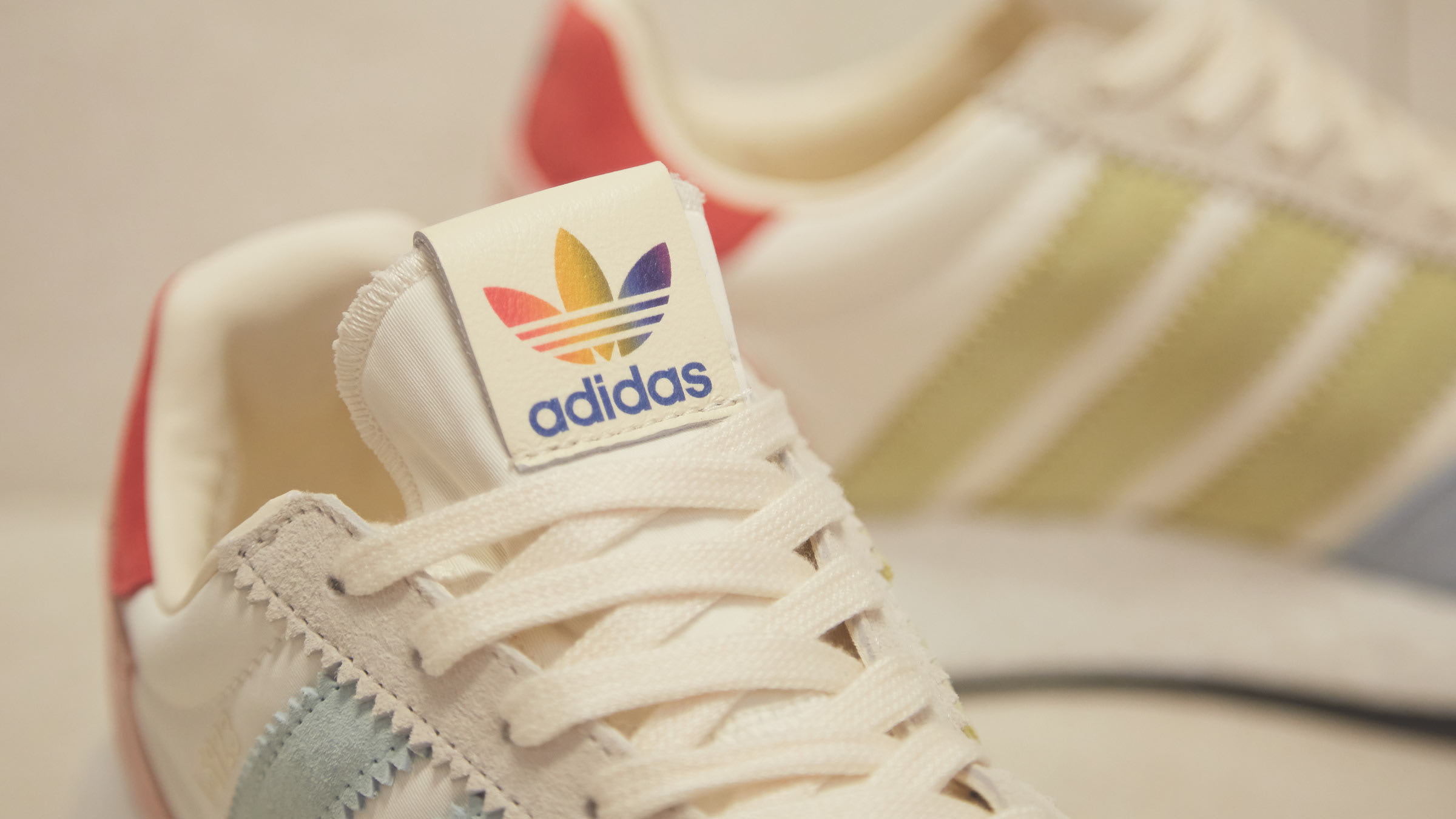 adidas I 5923 Boost Pride Cream White in 2019 | Pride shoes