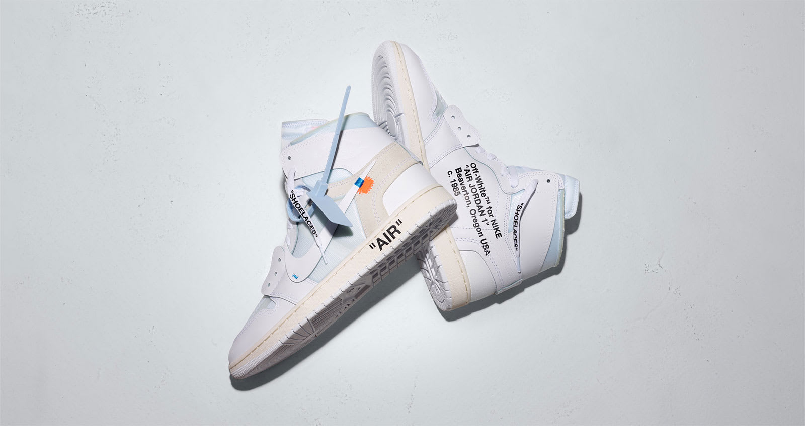 official photos dc4be 3cd4b END. Features | Virgil Abloh x Nike Air Jordan 1