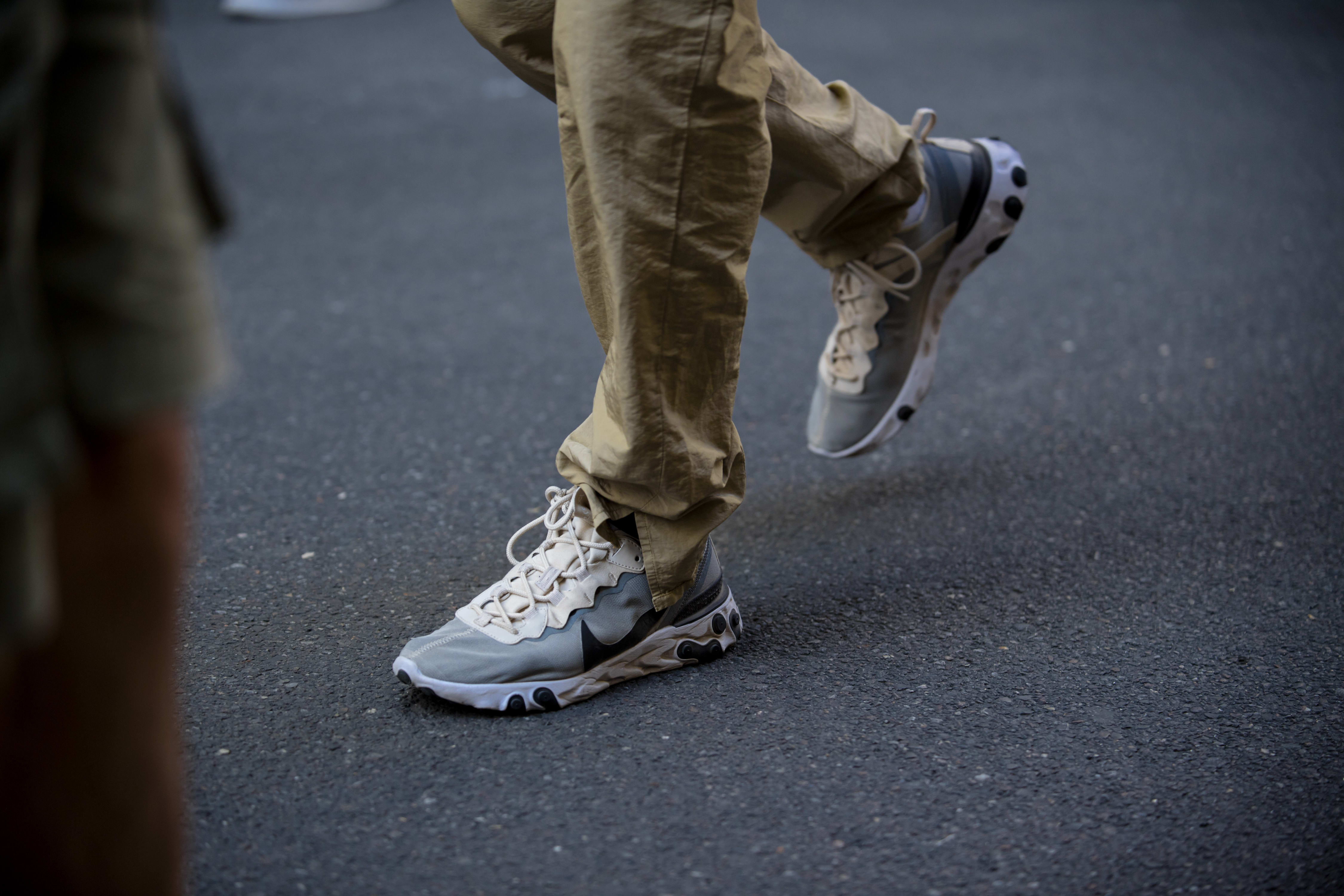 Milan Fashion Week SS20 Sneaker Style