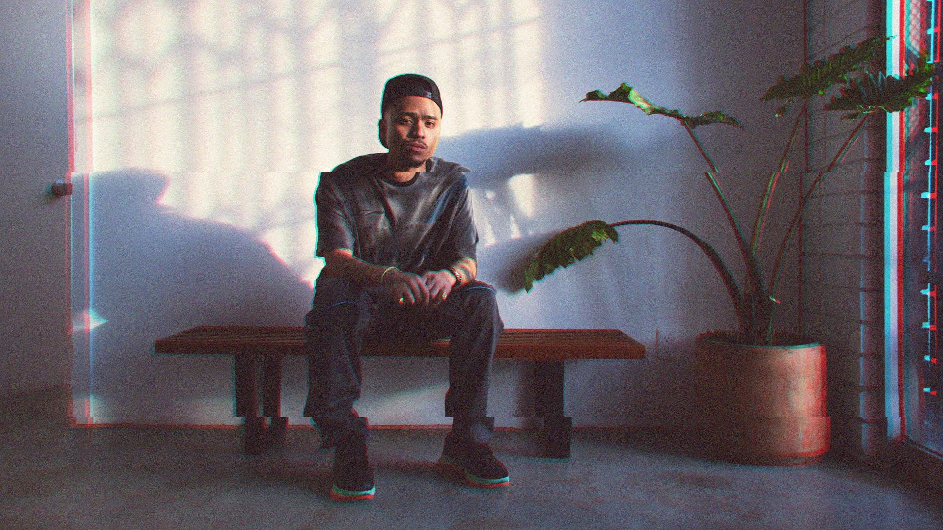 Rhuigi Villasenor in his downtown LA studio