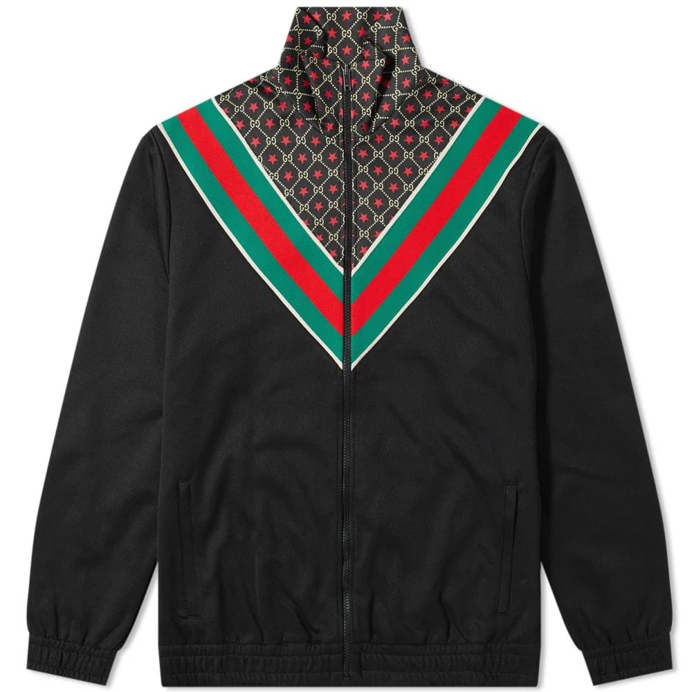 Gucci GG V Contrast Track Jacket
