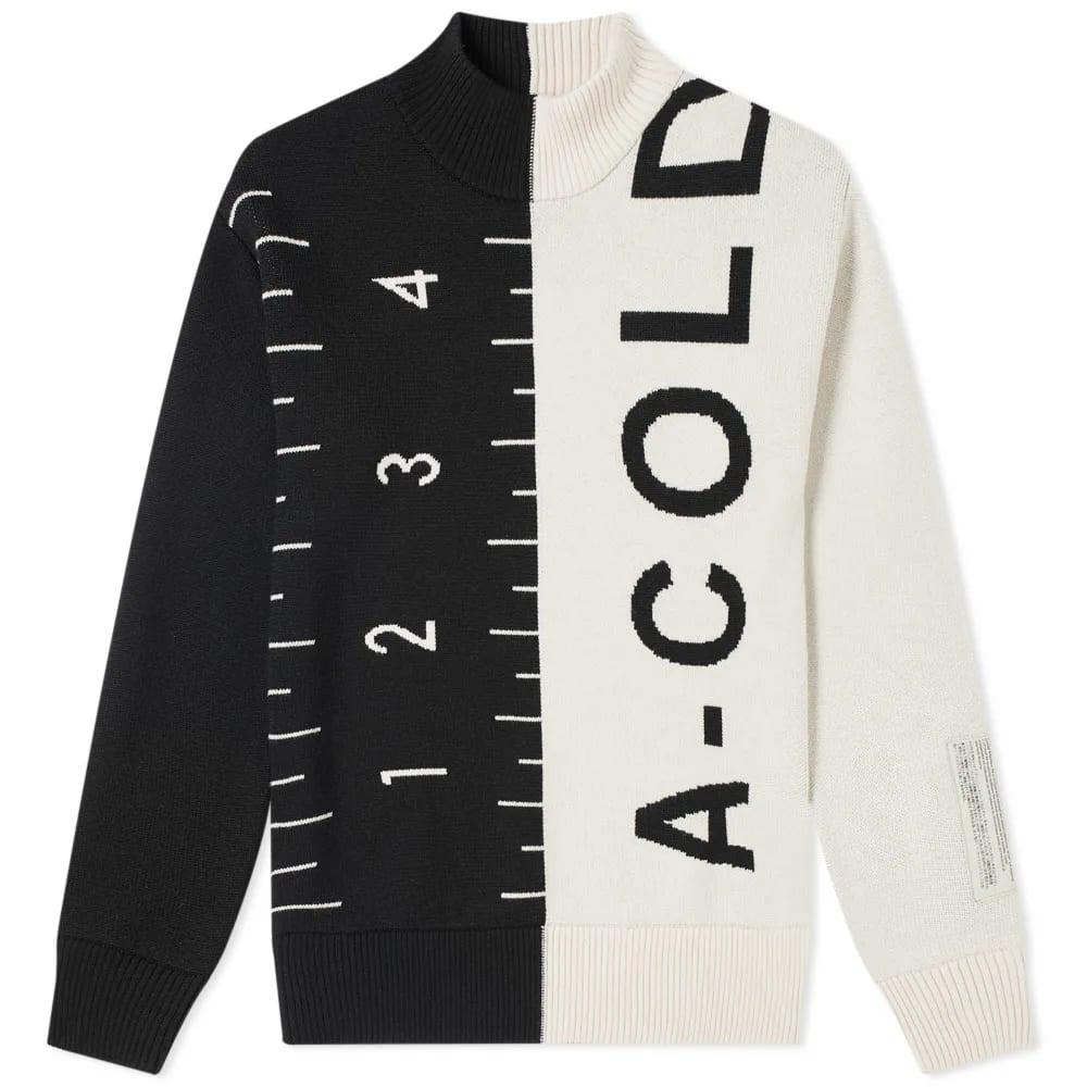 A-COLD-WALL* Jacquard Split Garment Knit