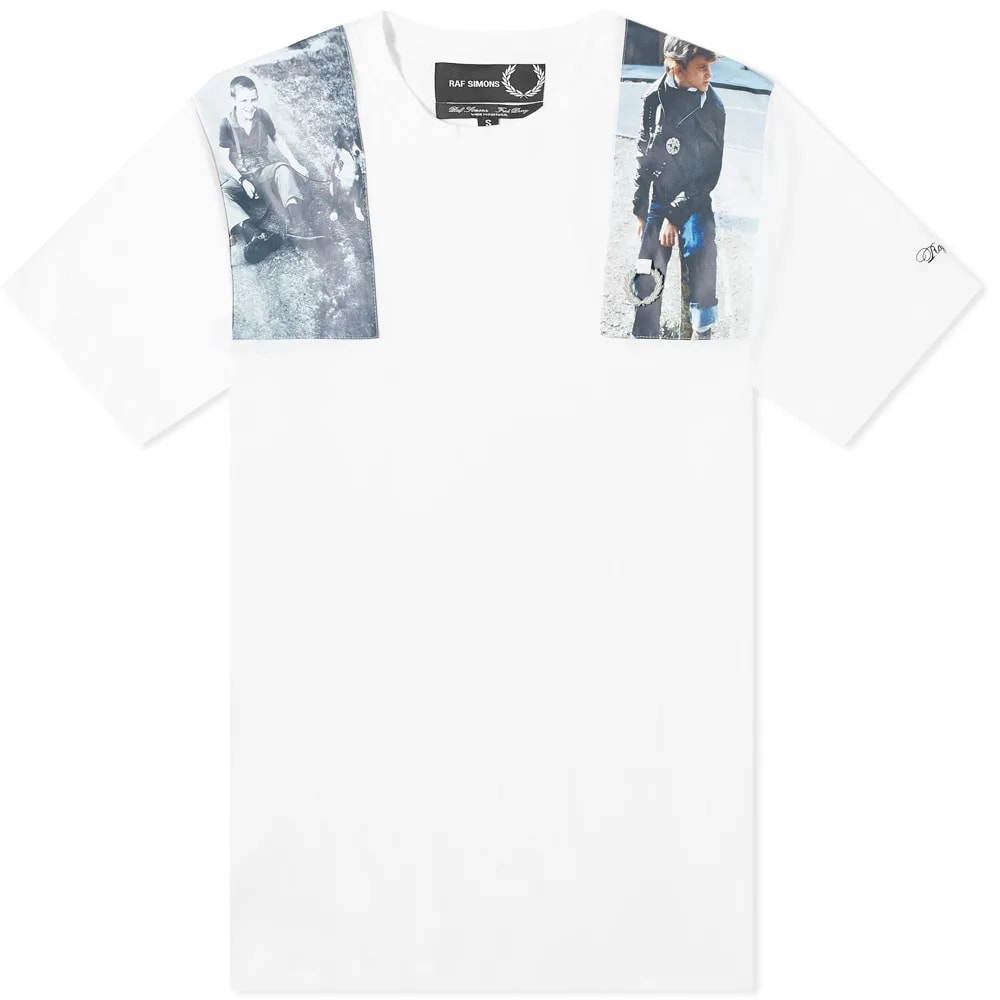 Fred Perry x Raf Simons Print Patch Tee