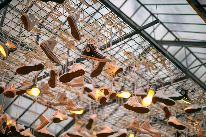 Converse's Paris Showroom display