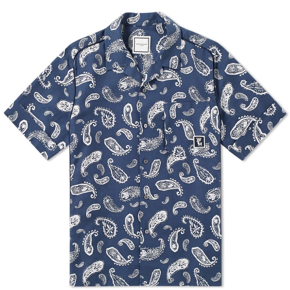 Short Sleeve Paisley Vacation Shirt