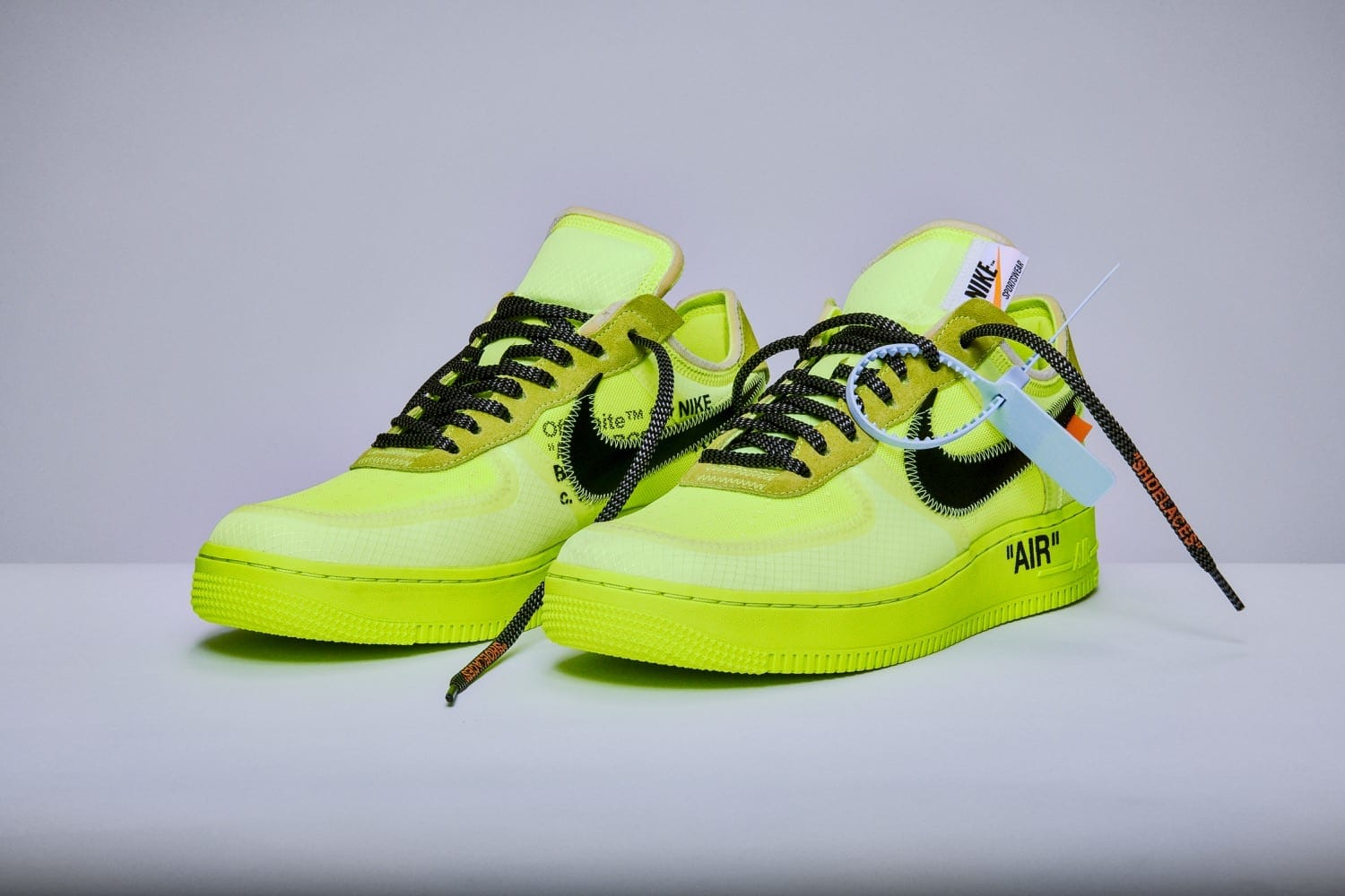 Nike X Off white Air Force 1 Volt The 10