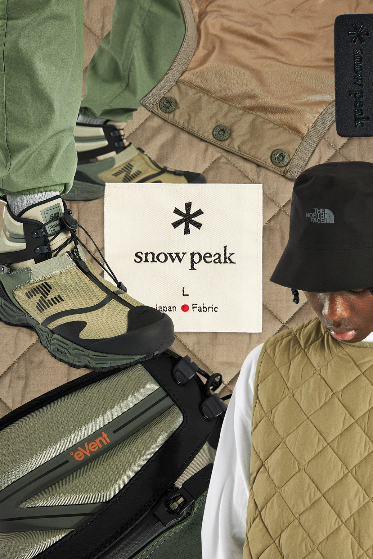Curated 005 | Trek -  Snow Peak Recycled NY Ripstop Down Vest