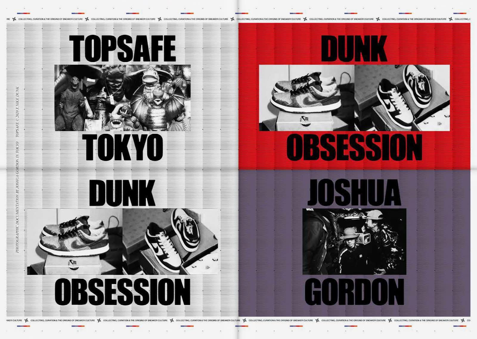 Nike Dunk Tokyo Obsession Zine shot by Joshua Gordon