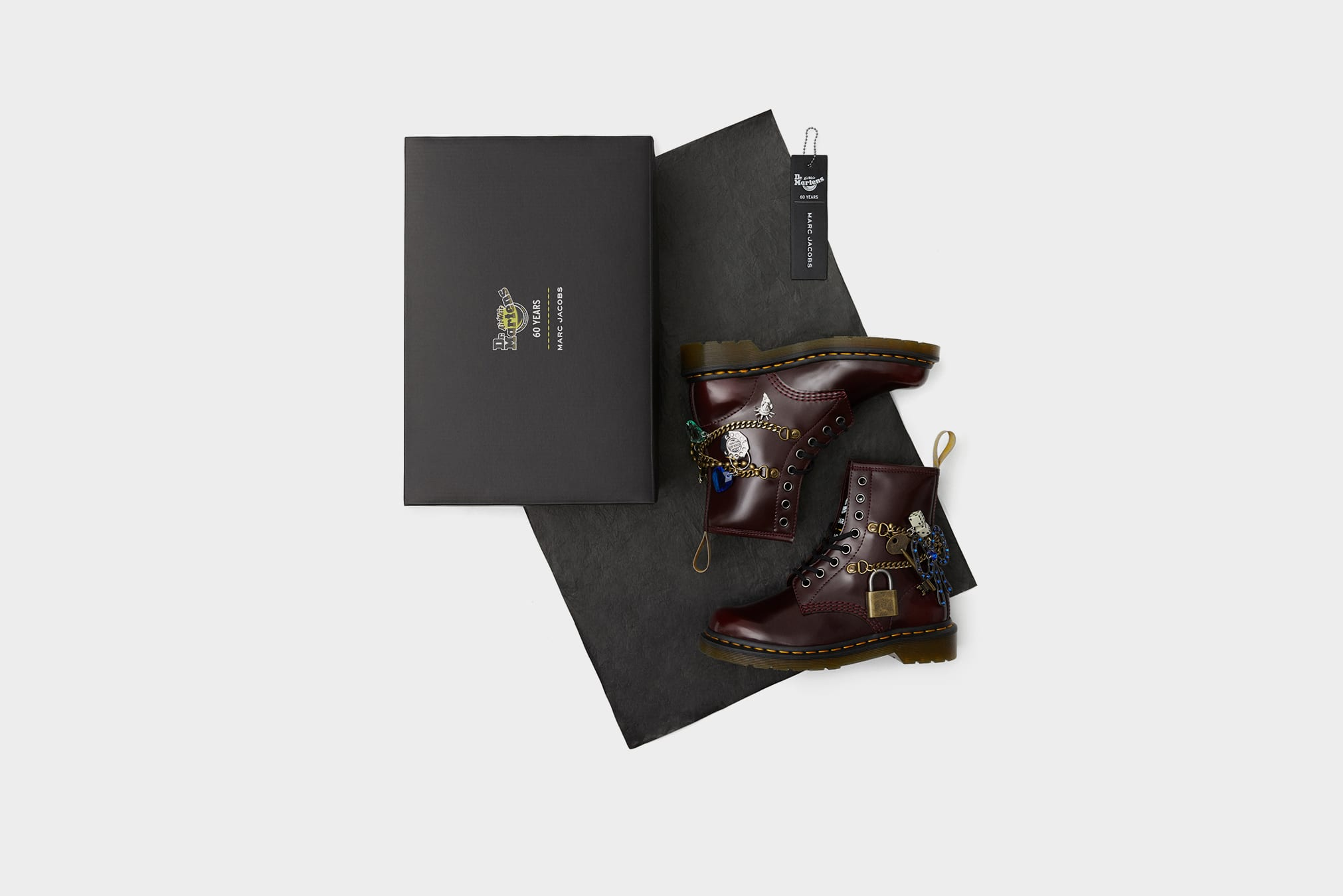 Dr Martens x Marc Jacobs 1460 Remastered Boot - 26496600
