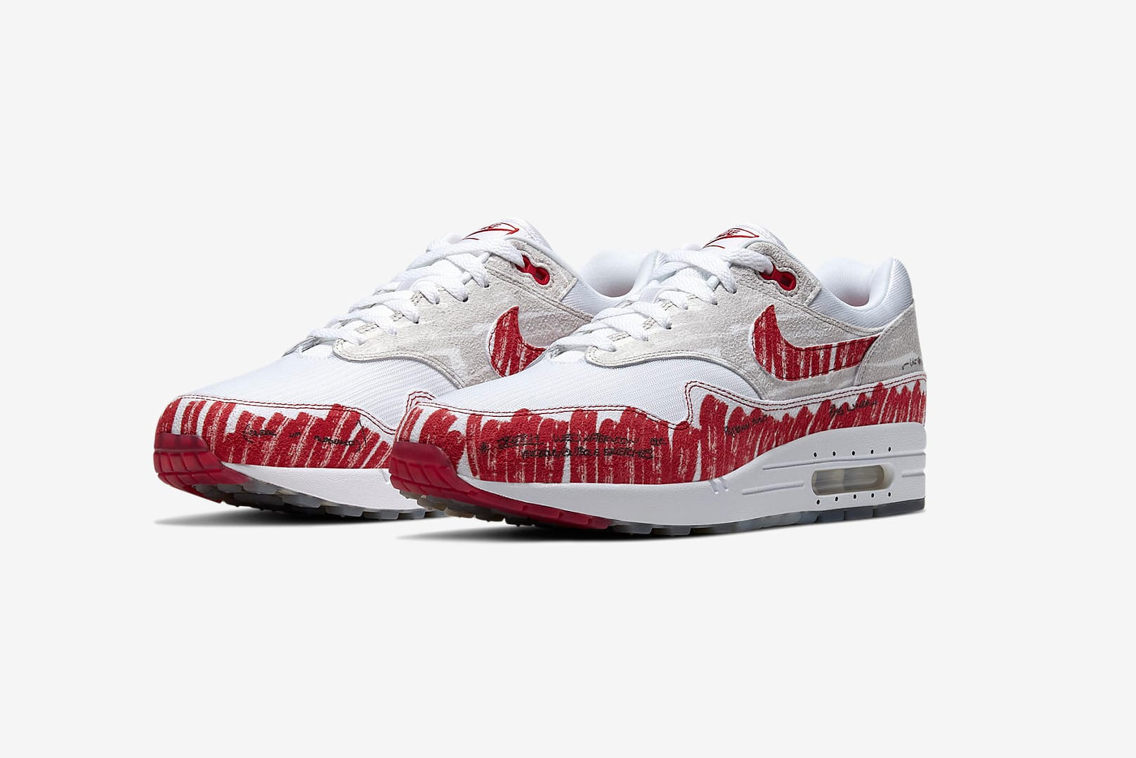 END. Features Nike Air Max 1 'Sketch to Shelf' Register  Nike Air Max 1 'Sketch to Shelf' Register
