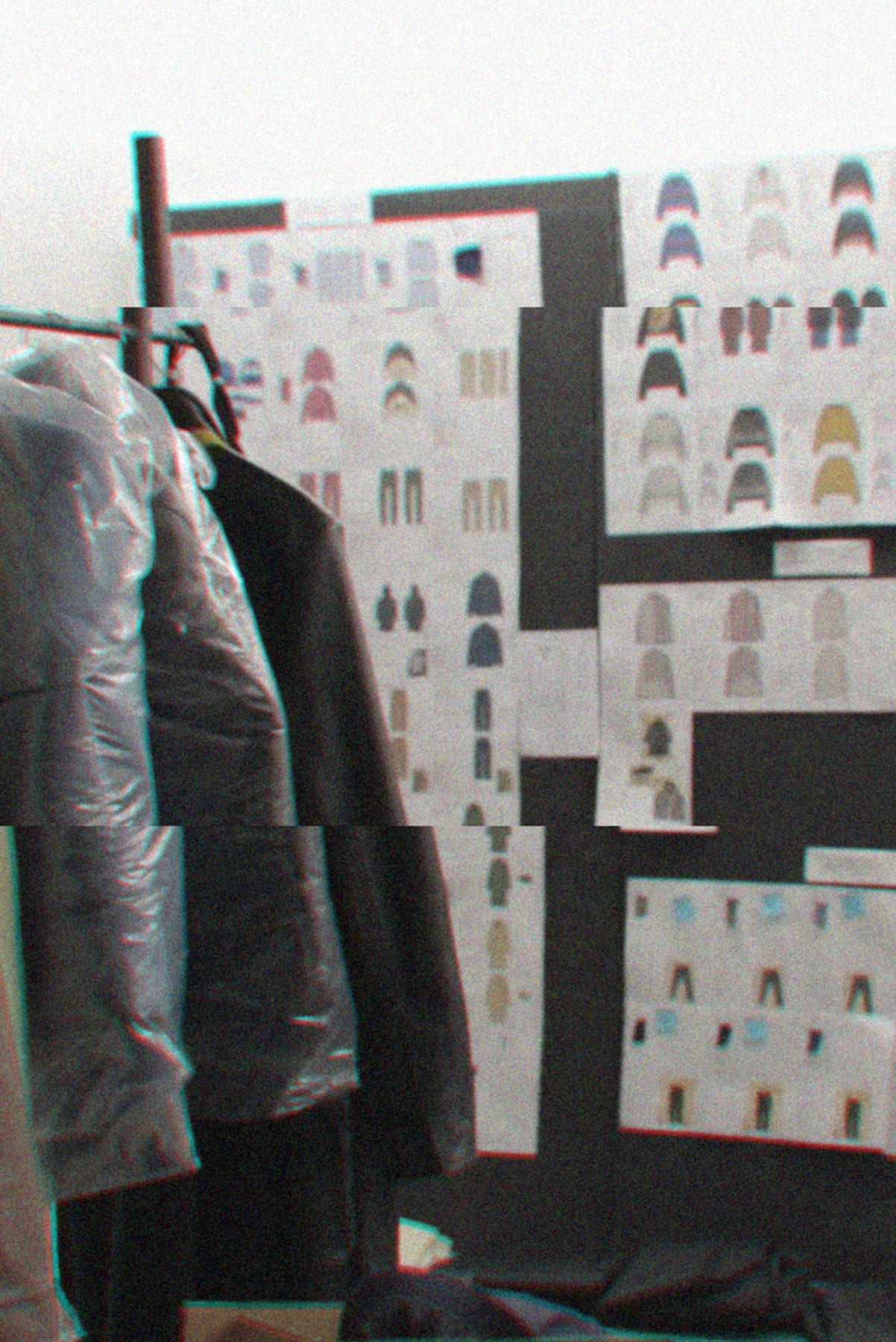 Look boards in the Rhude studio