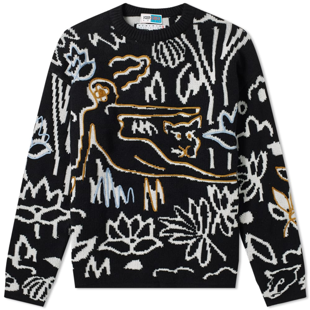 Rousseau Embroidered Knit