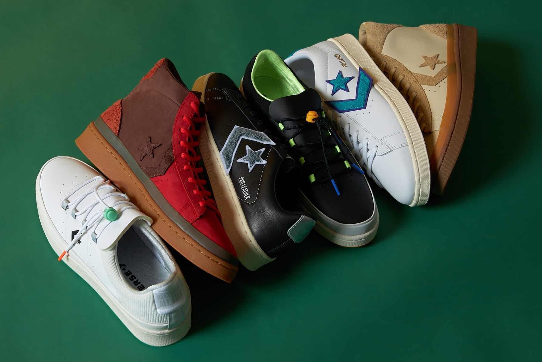 The Converse Pro Leather Decades Pack