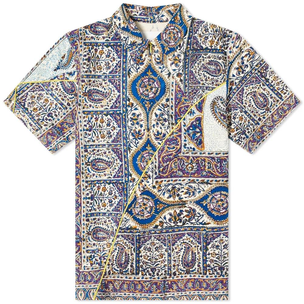 Curated 002 | Independent - Paria Farzaneh Iranian Print Panel Shirt