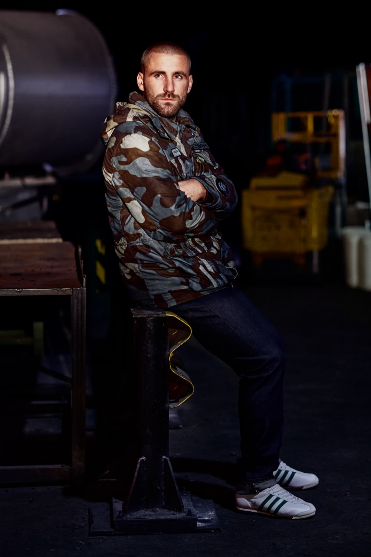 C.P. Company x adidas Spezial 50 Fili Camouflage Jacket - 11CMOW316A006156W-V0