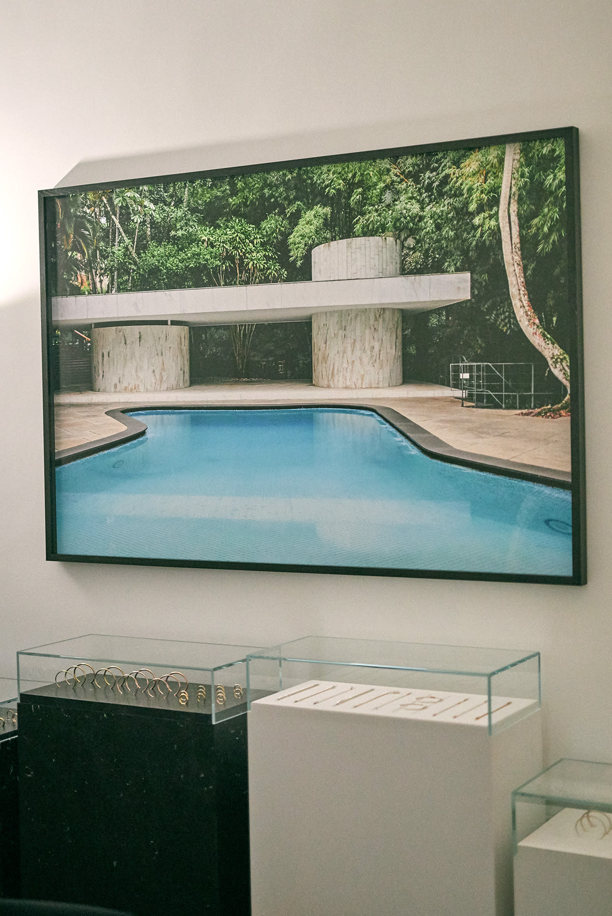 """Rio de Janeiro"", 2009, by Vincent Mercier at the Le Gramme showroom in Paris"