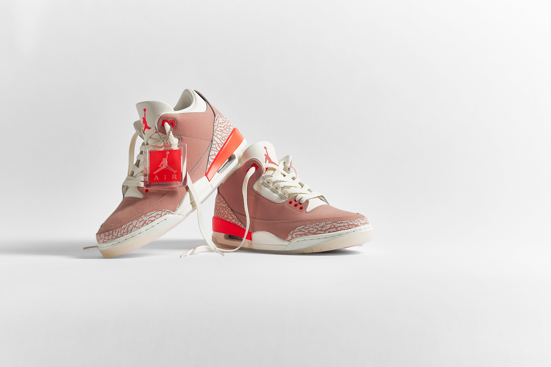 Nike Air Jordan 3 Retro W 'Rust Pink' - CK9246-600