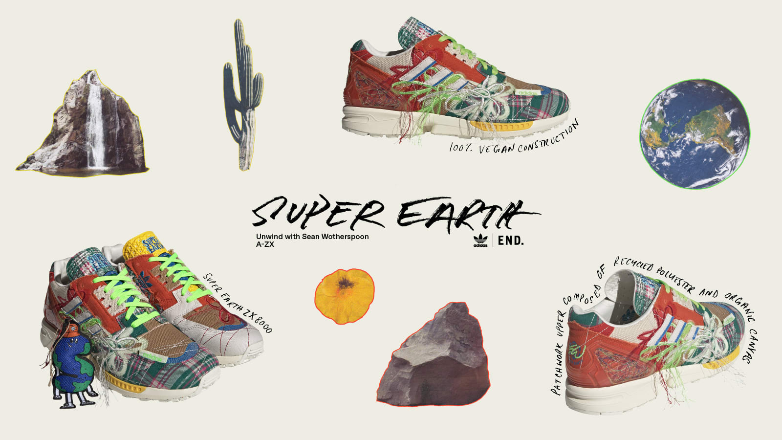 SUPEREARTH SOUNDS | adidas x Sean Wotherspoon