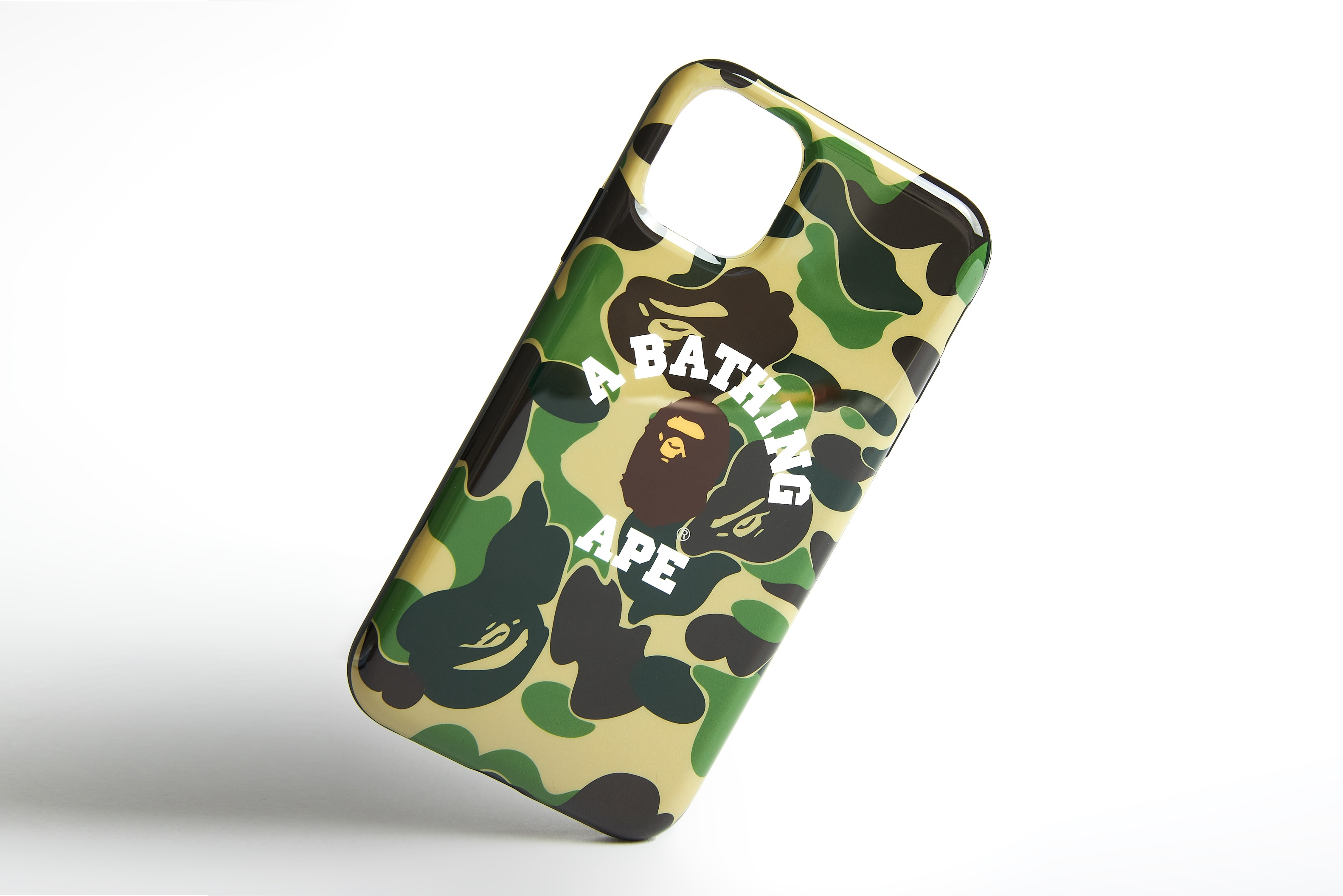 A Bathing Ape ABC Camo College iPhone 11 Case - 1F70182239-GN