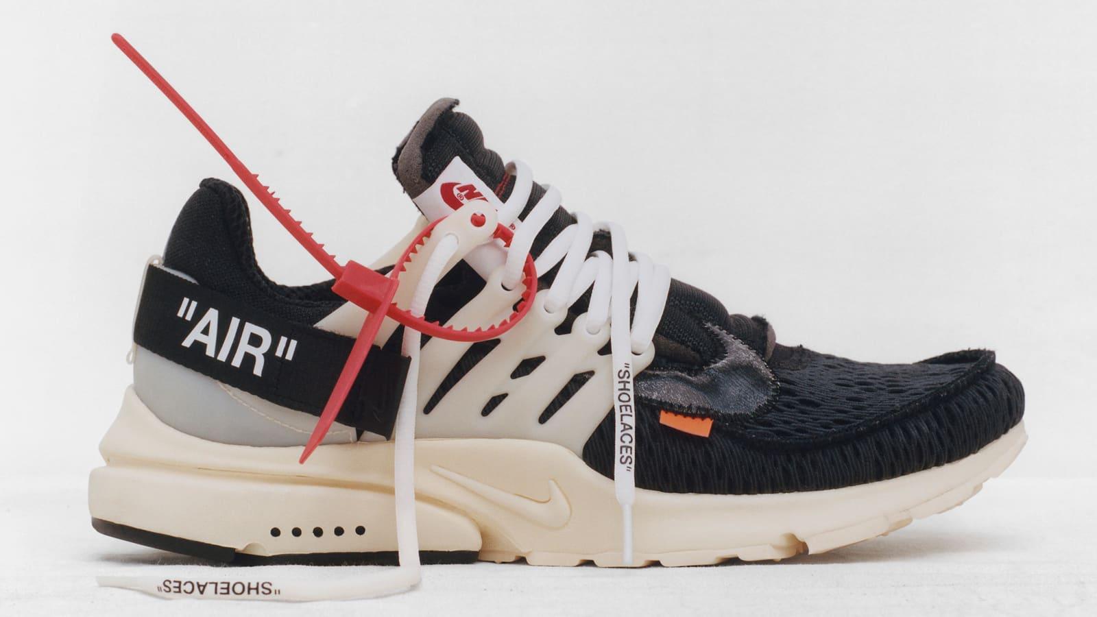 Ten : Nike Air Presto x Virgil Abloh