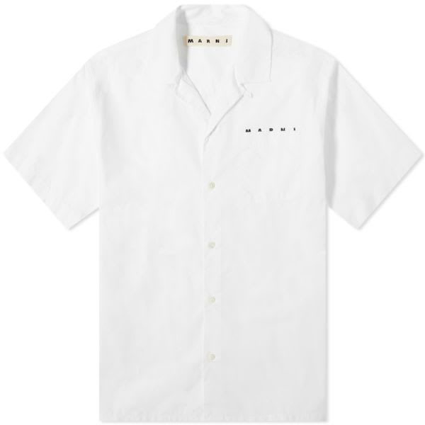 MARNI Pocket Logo Vacation Shirt