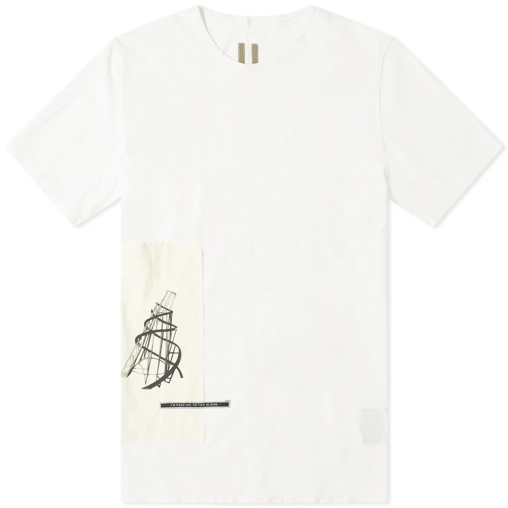 Rick Owens DRKSHDW Patched Level Tee