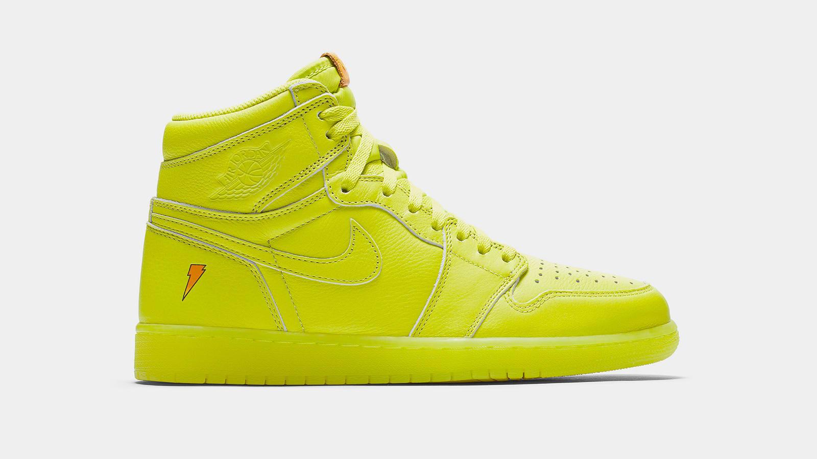 vídeo Accidentalmente Frotar  END. Features | Nike Air Jordan 1 Retro OG 'Gatorade' Cyber - Enter Raffle  Now