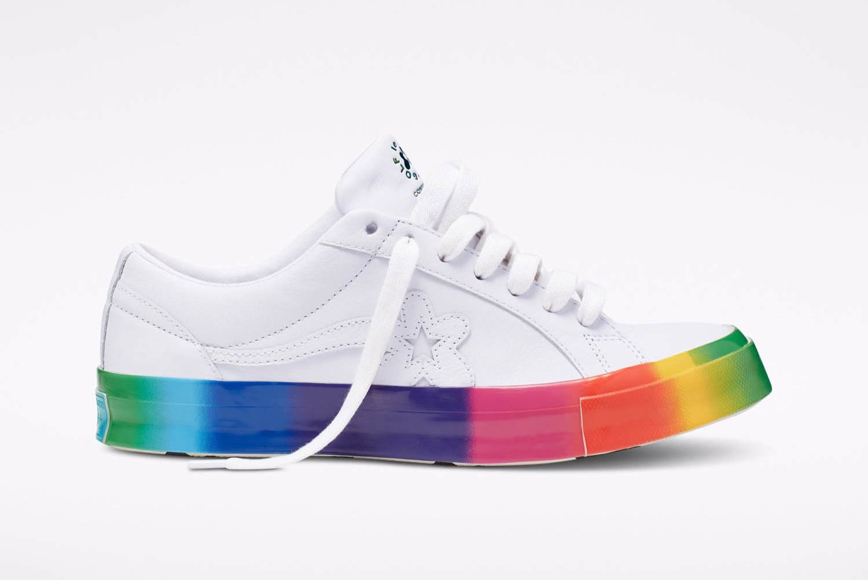 Converse x Golf le Fleur Ox Rainbow - 166409C