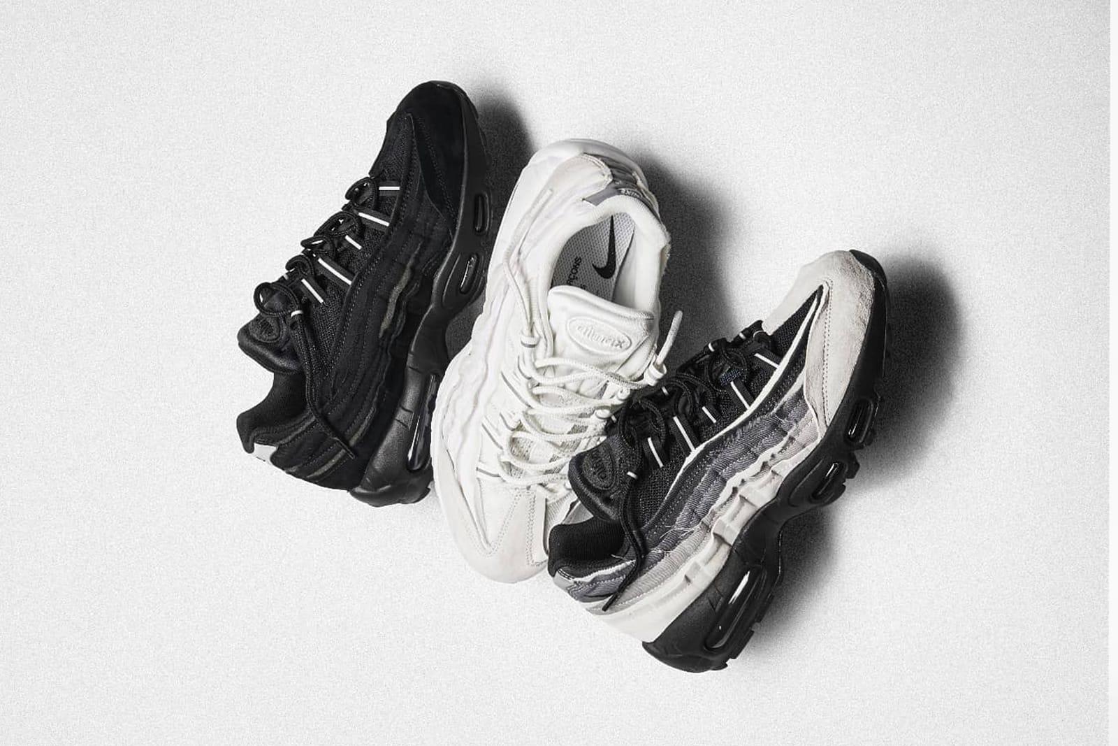 como encontrar gran selección de 2019 seleccione para el más nuevo END. Features   Comme des Garçons x Nike Air Max 95 Pack ...
