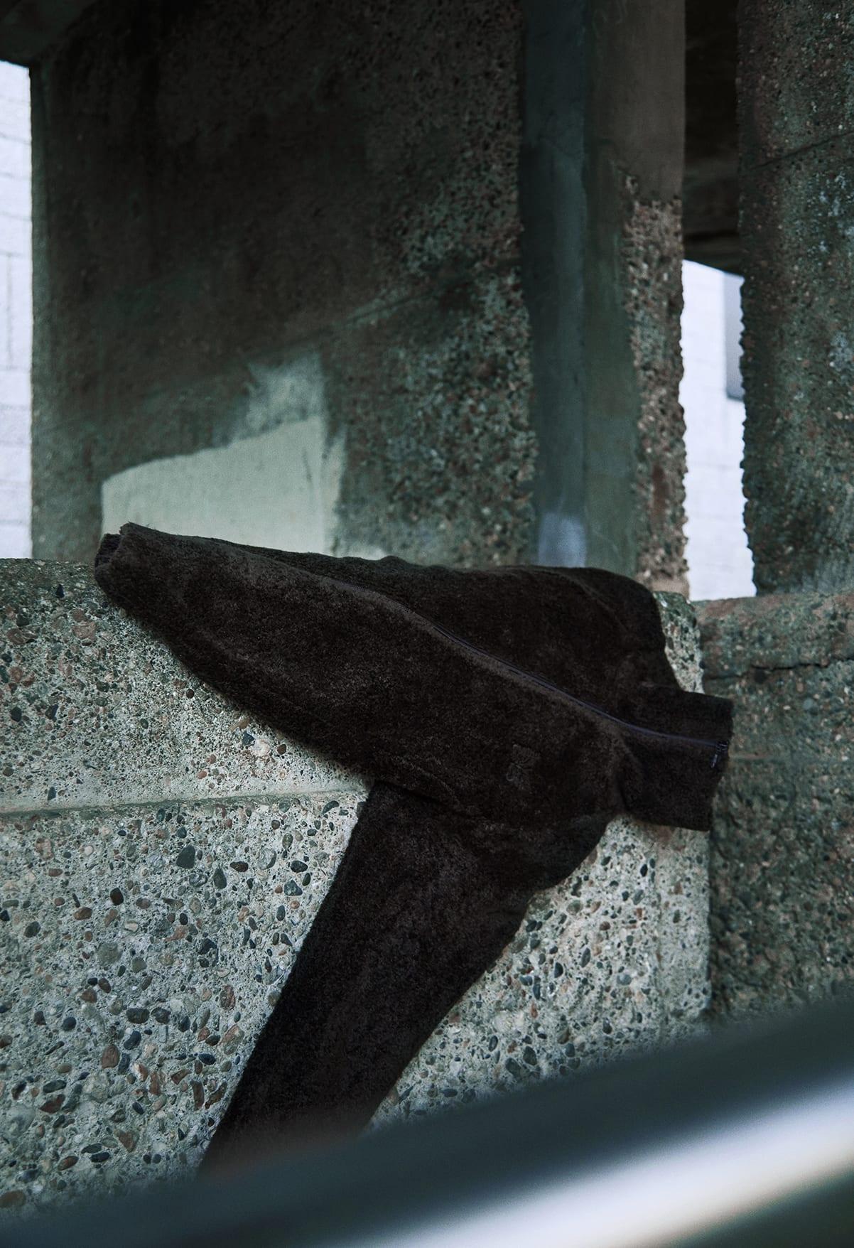 END. Required Item: Sherpa Fleece SS20: Model Wears Needles Lewis Sherpa Jacket