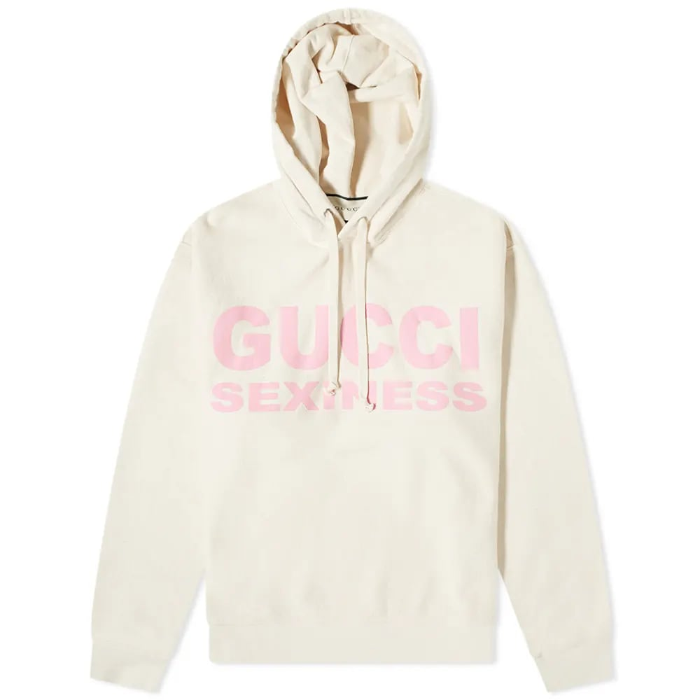 Curated 001 | Escapism - Gucci Sexiness Popover Hoody