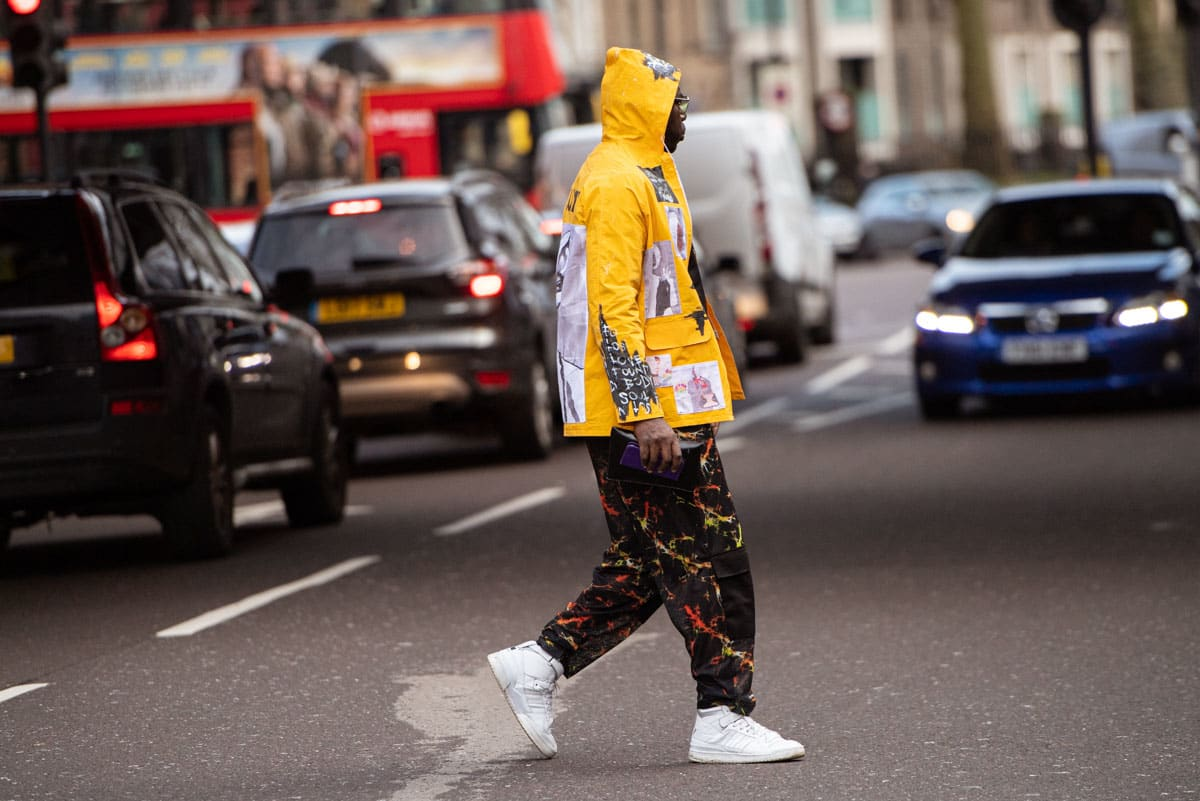 End Features Street Style Report London Men S Aw20