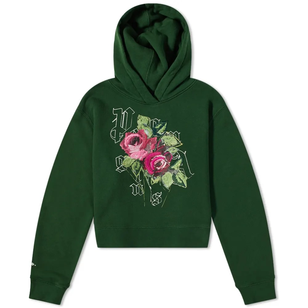 END. x Palm Angels Big Rose Fitted Hoody