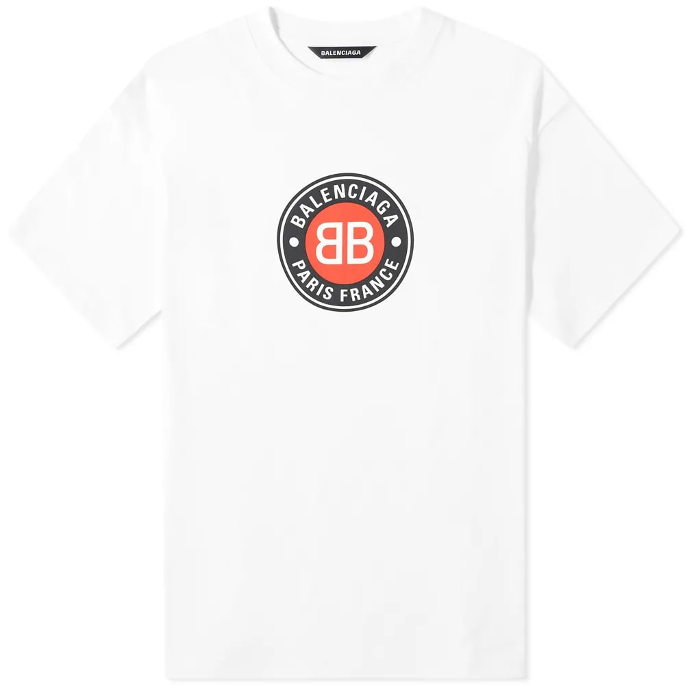 Balenciaga Badge Logo Tee