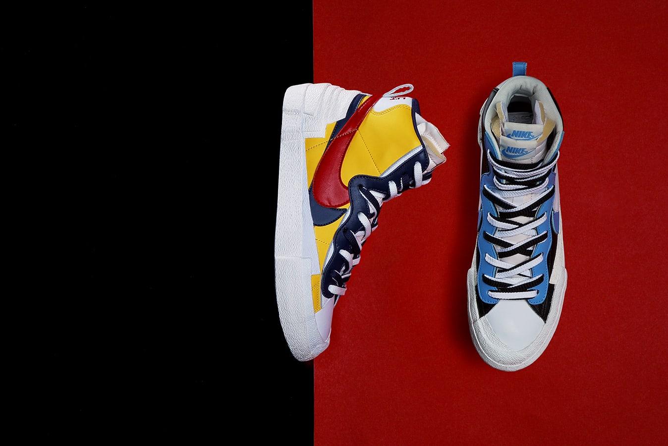buy popular f76d4 99e41 Nike x Sacai Blazer Mid