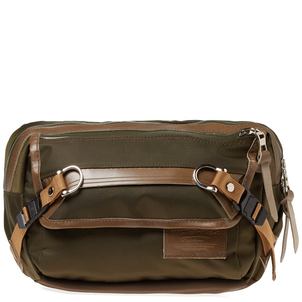 Potential Leather Trim Waist Pack