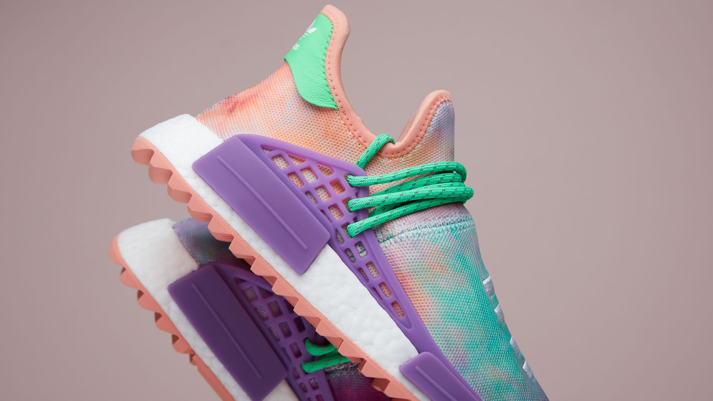 1bd3c6d51f259 For the final drop of Pharrell Williams' 'Holi Hu' capsule - a collection  inspired by the Hindu festival of colour - adidas explores the frenetic  vibrancy ...