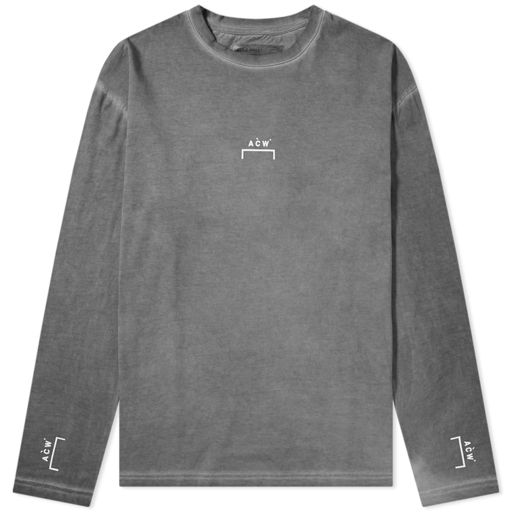 A-COLD-WALL* Long Sleeve Bracket Logo Tee