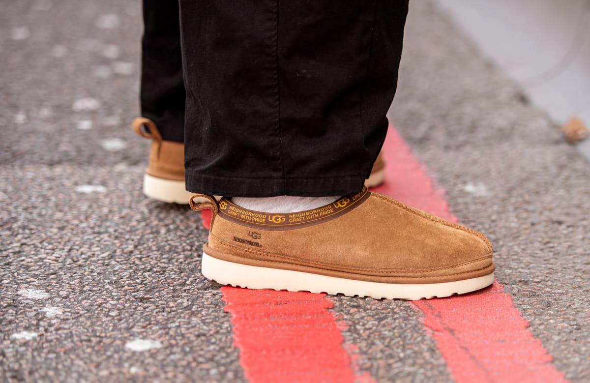 Neighborhood x UGG Tasman at London Men's Fashion Week AW20