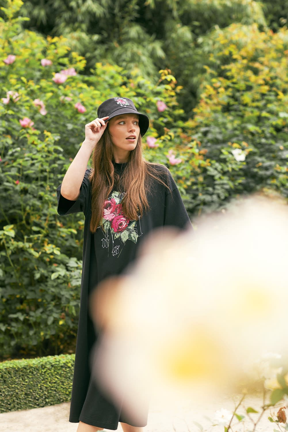 """END. x Palm Angels """"English Rose"""" Womenswear Look Book"""