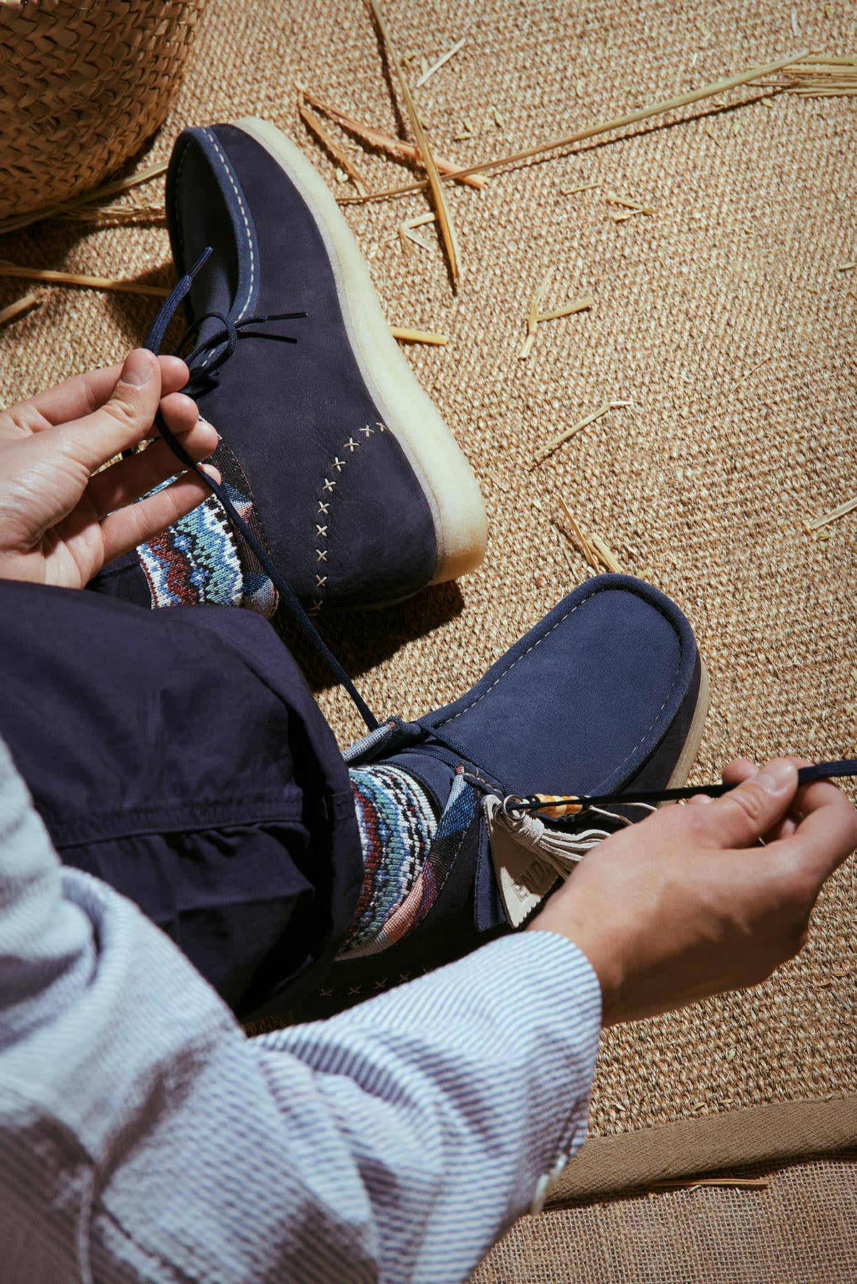 "END. x Clarks Originals ""Artisan Craft"" Wallabee Boot - 26150697"