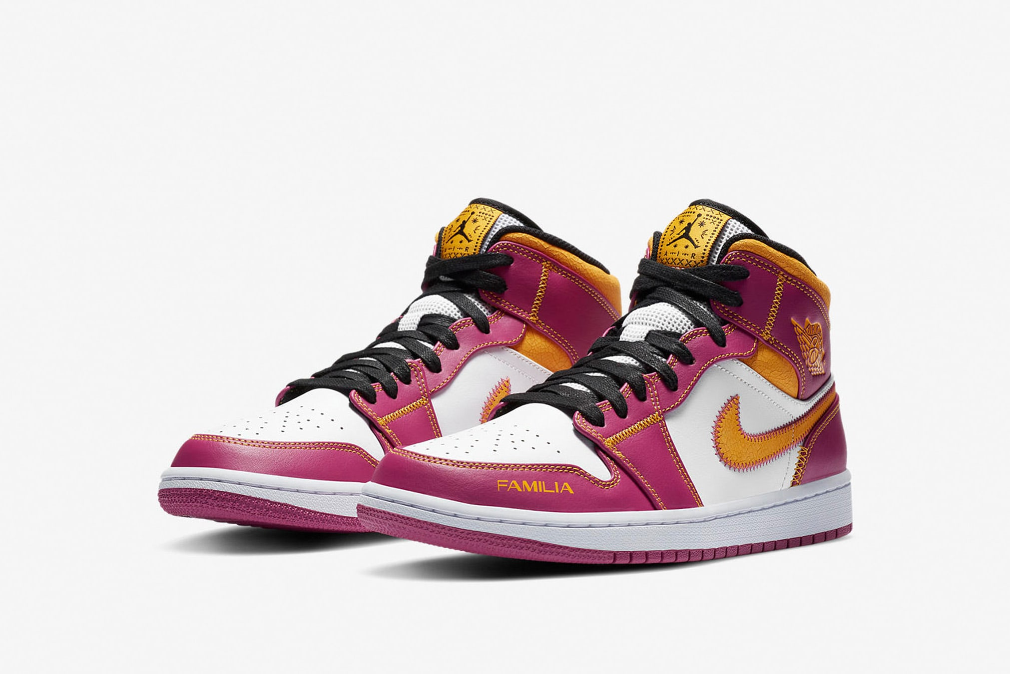 """Air Jordan 1 Mid """"Day of the Dead"""" - DC0350-100"""