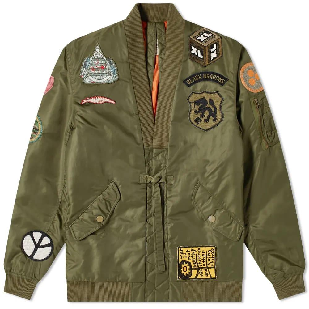 Maharishi MA Flight Hanten Jacket Nylon