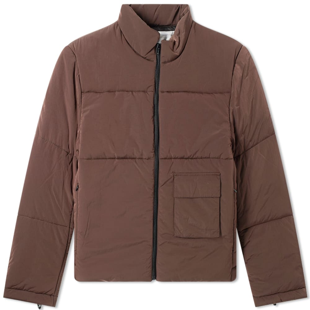 Metal Detail Quilted Jacket