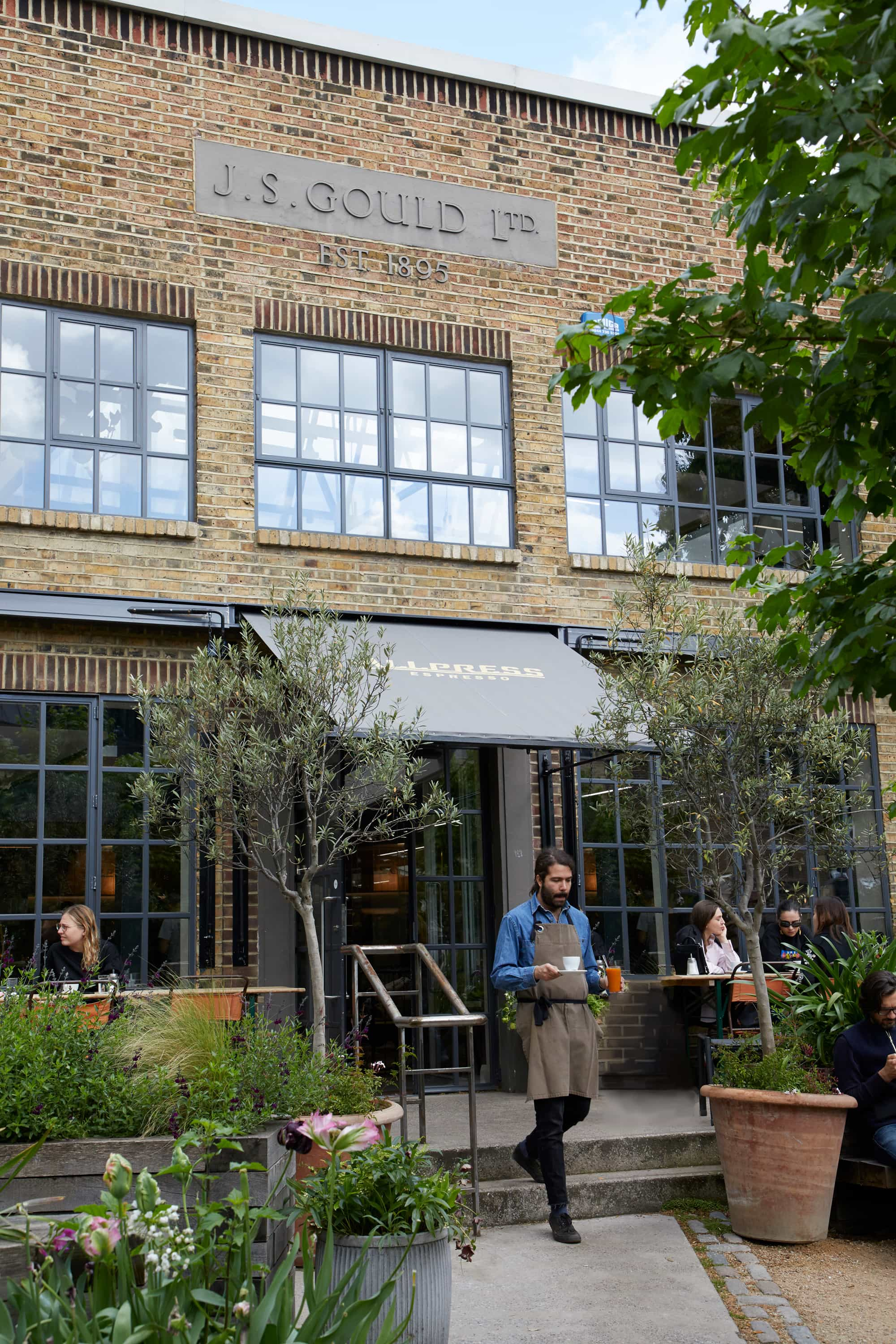 END. London City Guide: Exterior of All Press Dalston