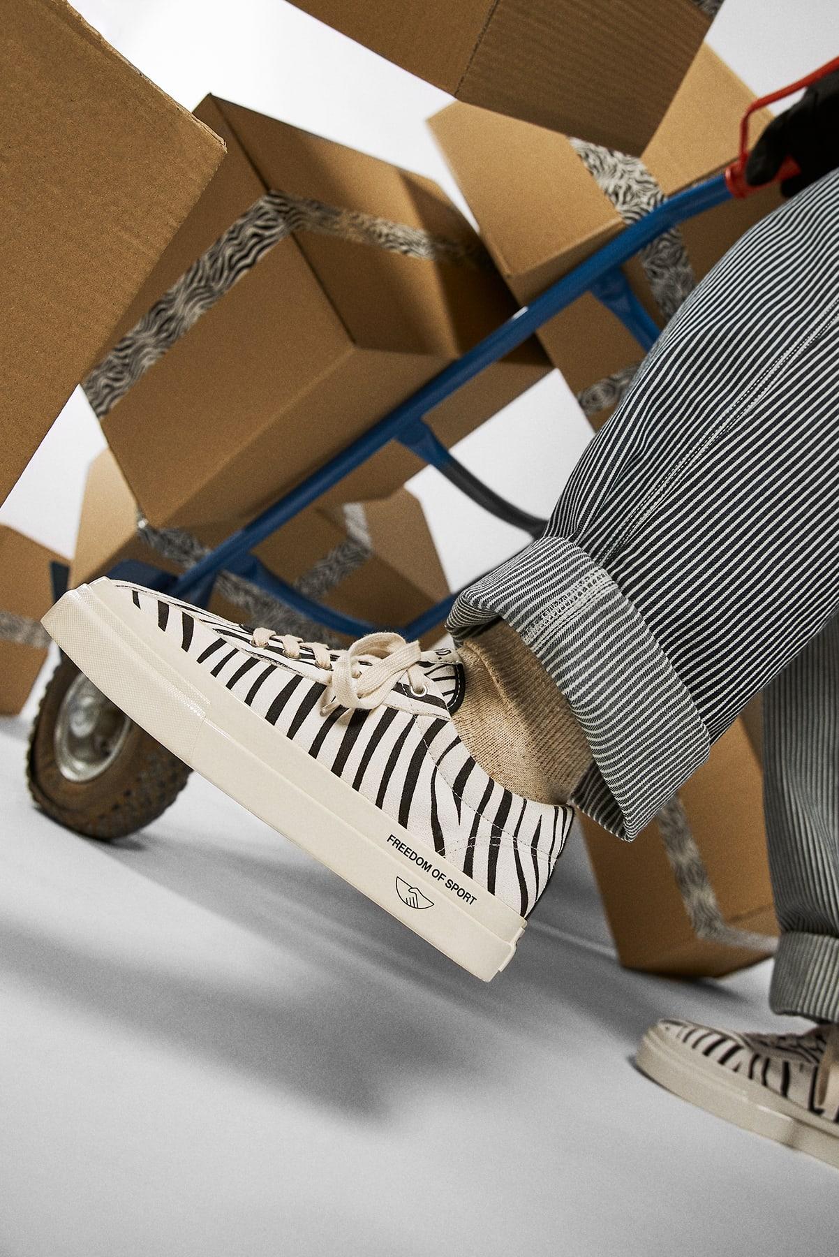 """END. x Stepney Workers Club Dellow """"Zebra"""" - YK01112"""