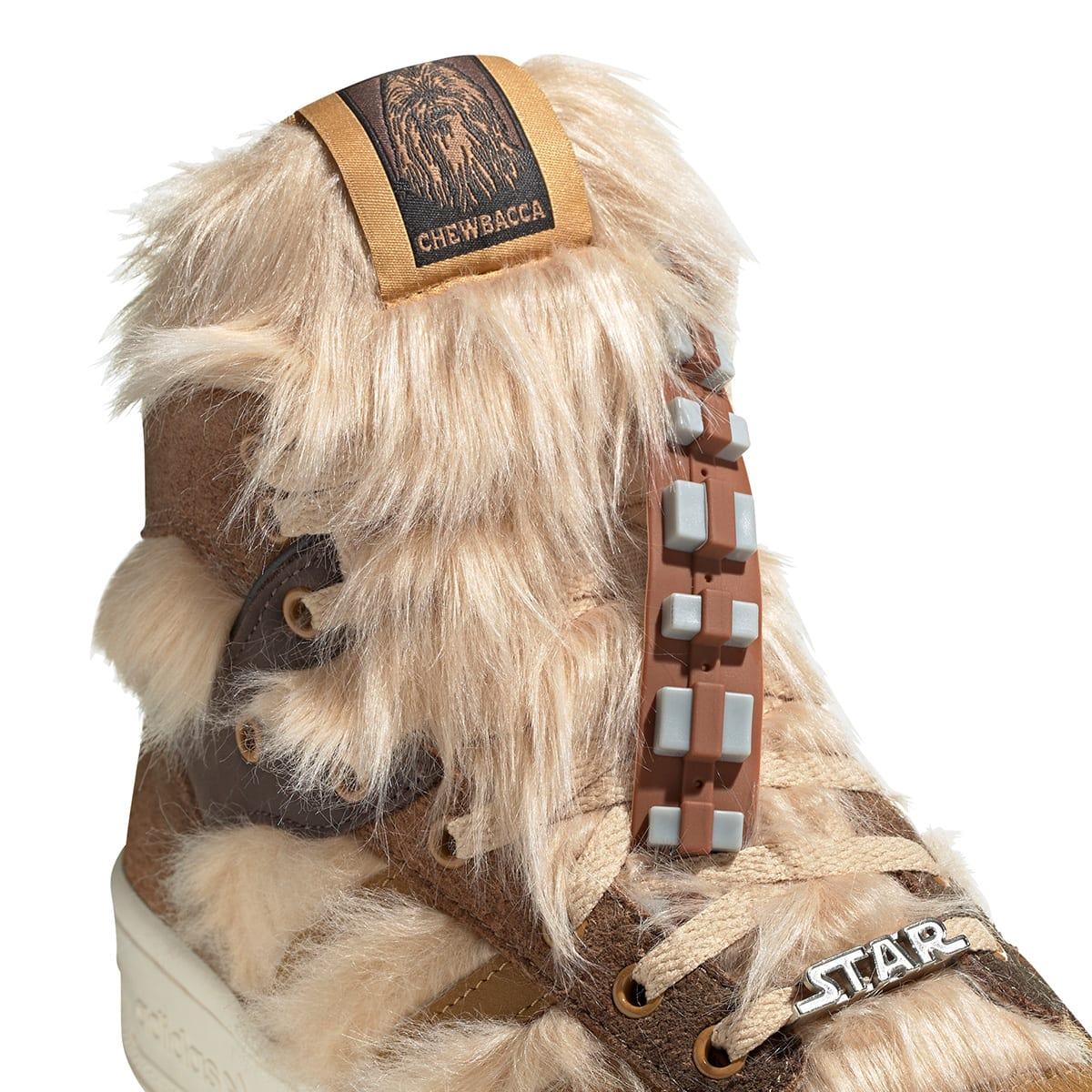 adidas x Star Wars Rivalry Hi Chewbacca - FX9290